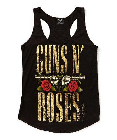 Black 'Guns N' Roses' Tank - Juniors #zulilyfinds