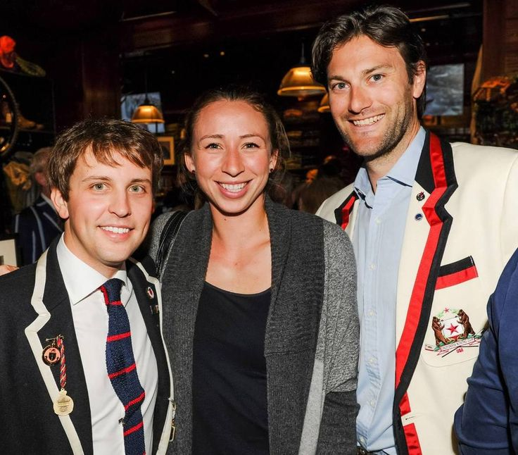 California Rowing Club USA blazer embroidery by PHT in the company of Jack Carlson, author of ROWING BLAZERS