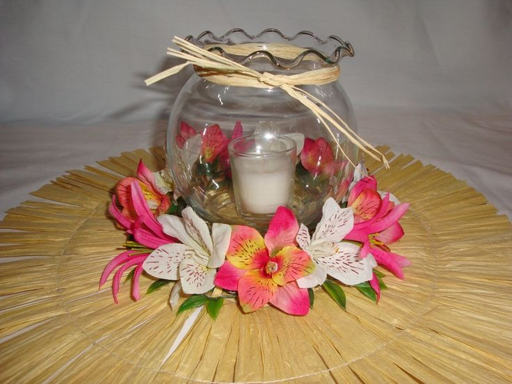 Ideas For The Tropical Themed Wedding: Best 20+ Luau Centerpieces Ideas On Pinterest