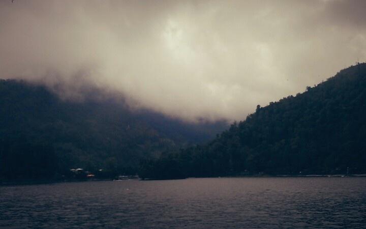 Mist at Pohsaran Lake, Pohsaran, East Java, Indonesia
