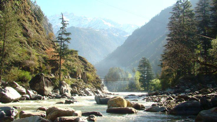 Kasol. Parvati River!