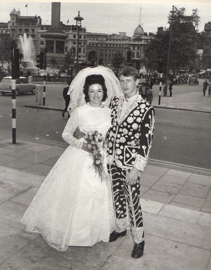 a Pearly wedding! #London #Pearly #Kings #Queens