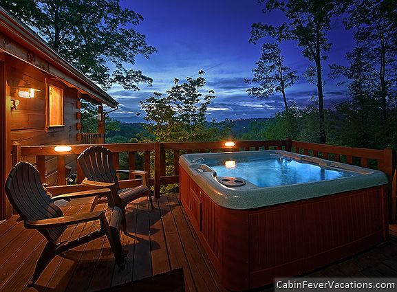 Lonely Pine - Can't you picture yourself and your loved one relaxing here? This 1 bedroom luxury cabin in the Smokies is calling your name! http://www.cabinfevervacations.com/cabin-detail/?cid=1046