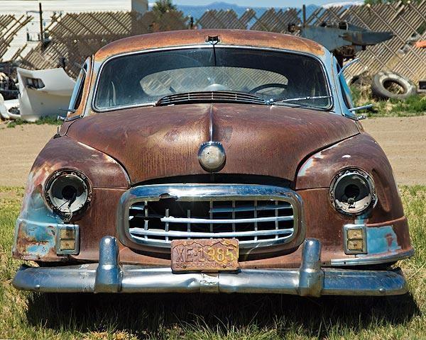 A Fine Art Photo Of Vintage Nash Abandoned VehiclesAbandoned CarsFind