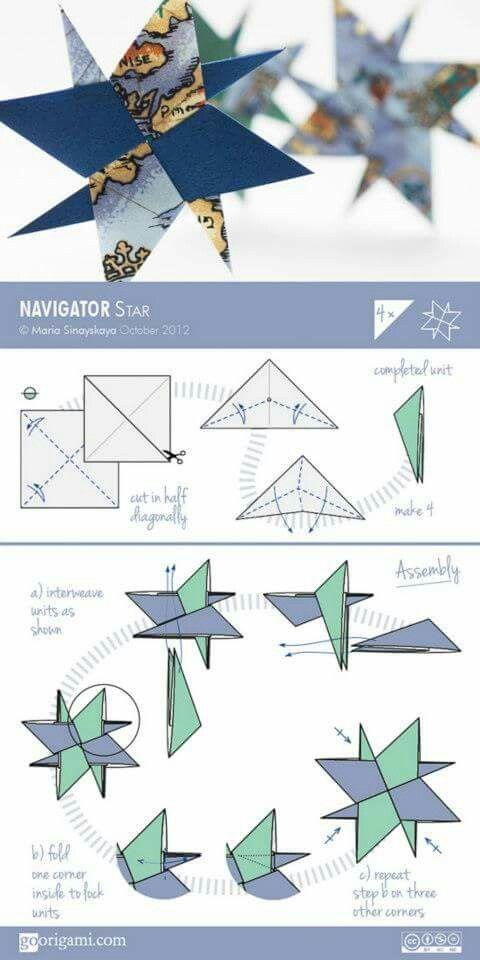 christmas origami flower diagram nissan patrol gu radio wiring 14 best diagrams images on pinterest | modular origami, and stars