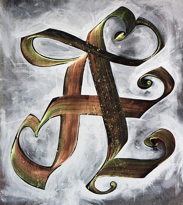 Calligraffiti, Alphabetic by Niels Shoe Meulman. Added December 21, 2014.