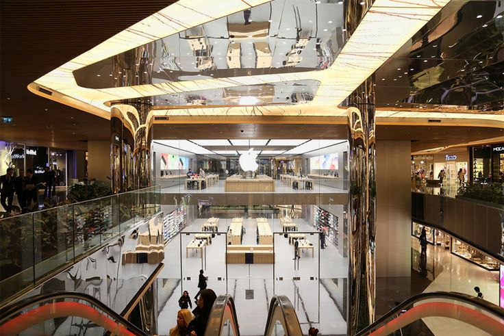 foster + partners completes istanbul's first apple store