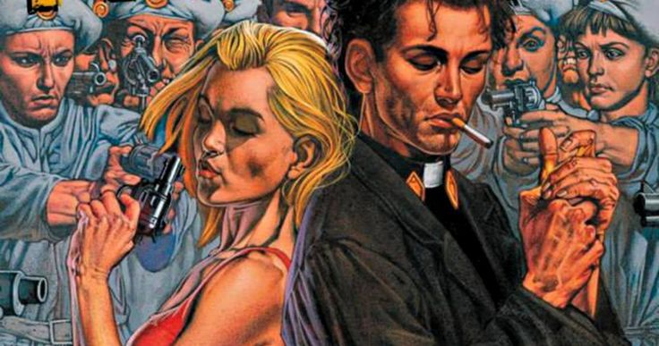 Seth Rogen Teases Genesis Intro in AMC's 'Preacher' TV Series -- Seth Rogen, Evan Goldberg and Sam Catlin are hard at work breaking the story for AMC's adaptation of the 'Preacher' comic book, which will open with an introduction to Genesis. -- http://www.movieweb.com/news/seth-rogen-teases-genesis-intro-in-amcs-preacher-tv-series