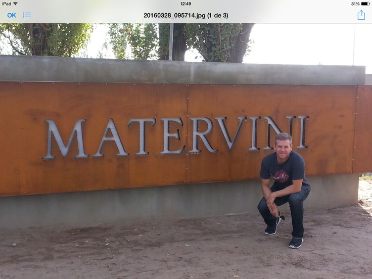 MATERVINI wines Mendoza Argentina.Cristian Duszkiewicz.