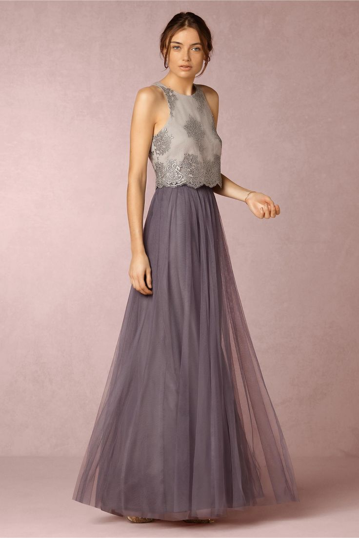 BHLDN Louise Tulle Skirt / Bridesmaid outfit inspiration