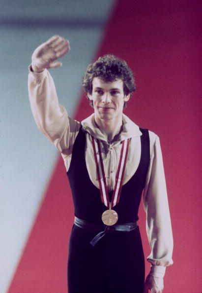 Men Olympic Figure Skating Gold Medalists: John Curry - 1976 Olympic Figure Skating Champion