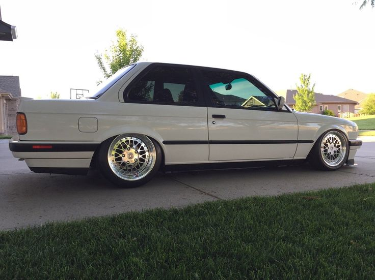 nice BMW: 3-Series 318is 1991 bmw 318 is e 30 custom air ride 3 piece hre wheels