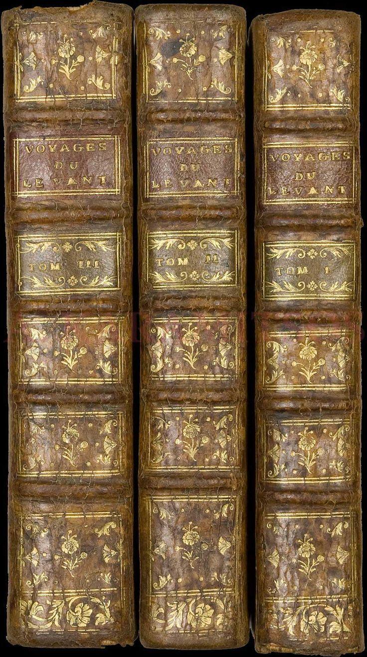 """Joseph Pitton de TOURNRFORT, """"Relation dun voyage au Levant fait par ordre du roi, contenant lhistoire ancienne et moderne de plusieurs isles"""", Lyon 1717."""