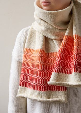 Colorwork Tube Scarf | Purl Soho free knitting pattern