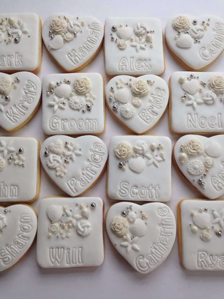 Wedding Favors Gifts For Guests Uk : ... .cookiedelicious.co.uk Guest favors Pinterest Ivory and Wedding