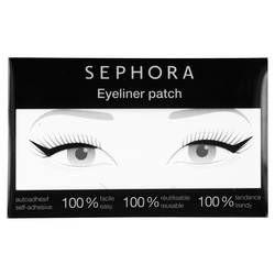 Questo eyeliner patch adesivo, facile da applicare, permette di realizzare un tratto di eyeliner ultra grafico per uno sguardo 100% tendenza.  Il suo design è stato appositamente studiato per adattarsi a ogni forma di occhi. Riposizionabile, si applica e si rimuove in un batter d'occhio!