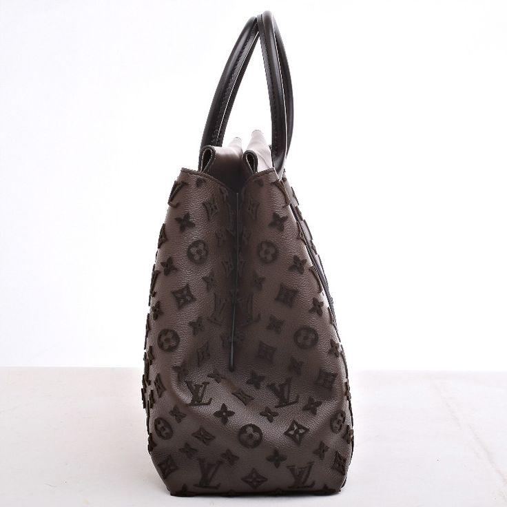 Louis Vuitton Gris Monogram Veau Cachemire W GM image 3