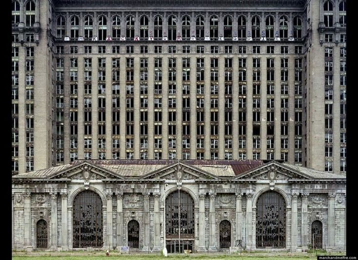 Haunting Images Of Detroit's Decline - these photos are beautiful and the abandonment is fascinating.