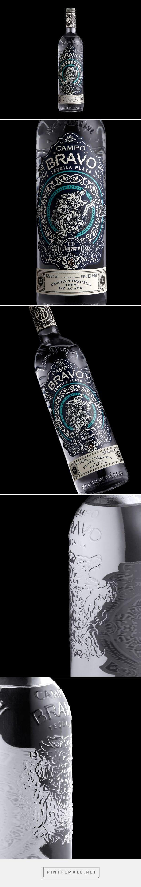 Campo Bravo Tequila diseño de envases por Extraño y extraño