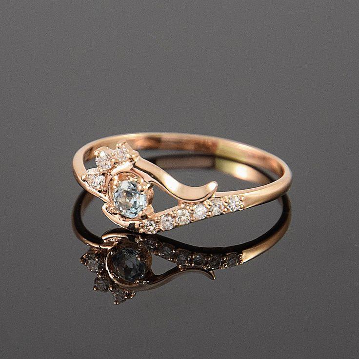 Topaz ring, Gold topaz ring, Blue topaz ring, Blue stone ring, Elegant ring, Dainty ring, Gemstone ring, December birthstone by JewelryAsteria on Etsy https://www.etsy.com/listing/255206373/topaz-ring-gold-topaz-ring-blue-topaz
