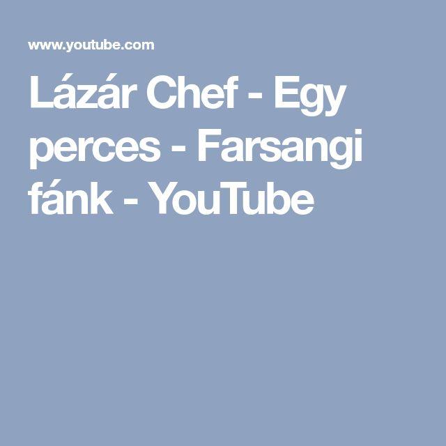 Lázár Chef - Egy perces - Farsangi fánk - YouTube