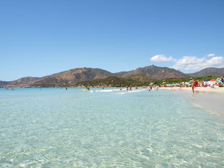 Campulongu Beach in Villasimius Sardinia - one of the favourite destinations of the coast. - www.villasimius.org