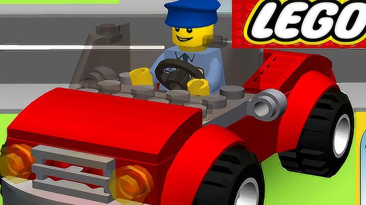 CARTOON LEGO® Juniors Create – Car. Racecar, Truck – Children's game – HD !