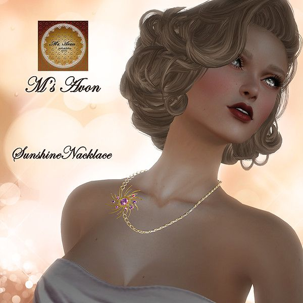 M's Avon_Sunshine Necklace 001