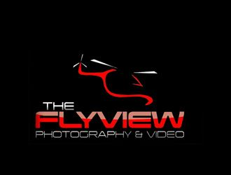 The FlyView by aprils Combining remote controlled helicopters with GoPro cameras makes for amazing shots! The abstract helicopter and title in red really pop out against the black. #GoPro #helicopter #LogoDesign