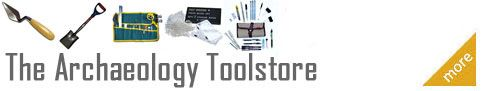 Archaeology trowels, tools and equipment, field schools, projects, etc