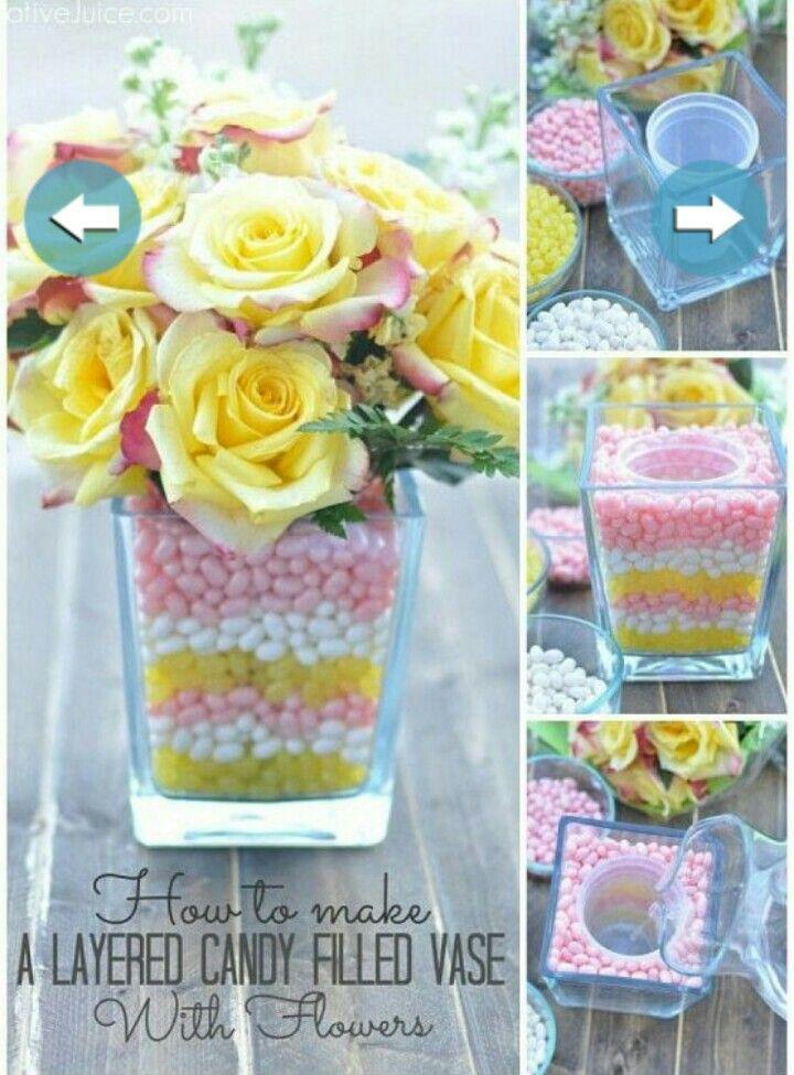 Dulces y flores u
