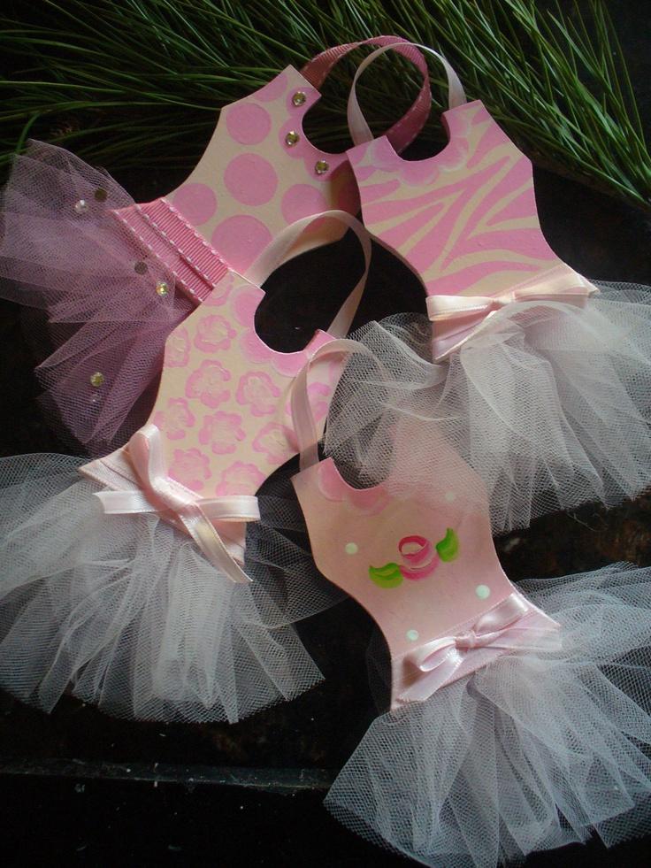 Image detail for -Tutu Ballerina Princess Christmas Ornaments by bubblesandcompany