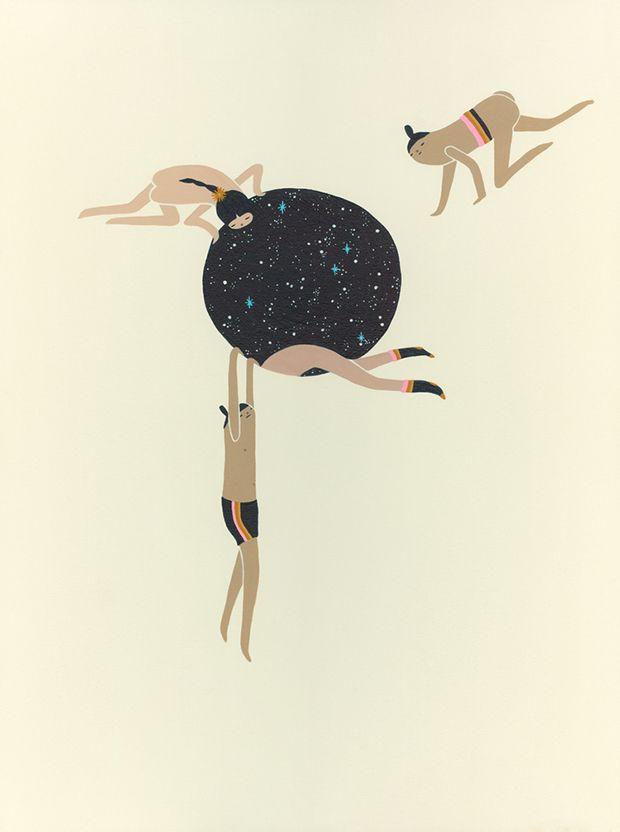 Laura Berger criou um mundo só seu, ilustrado com seres fabulosos. Através de seus desenhos, Laura explora nossa conexão com o universo e com os outros.