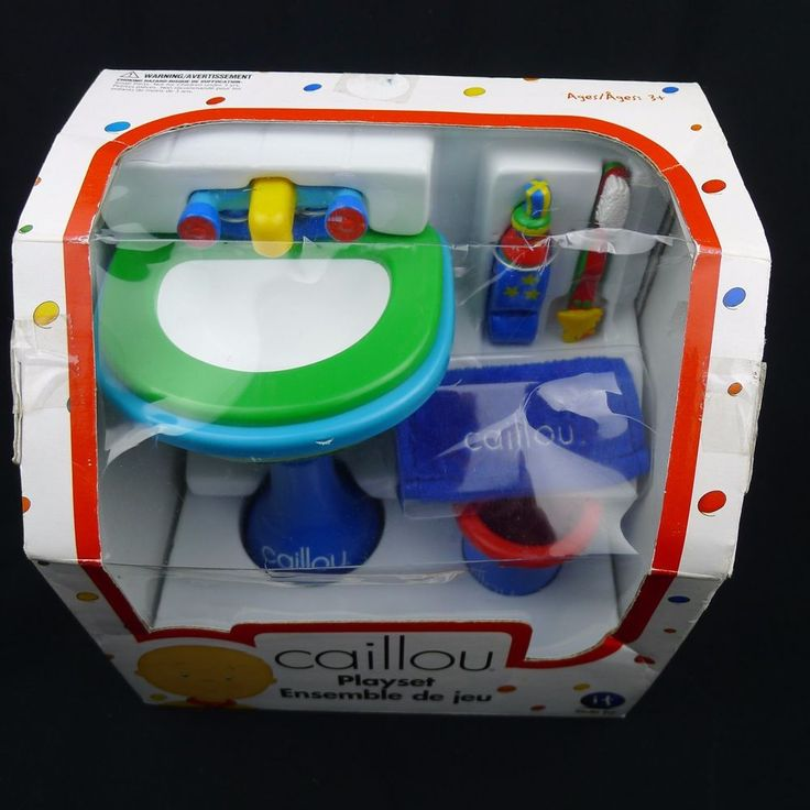 Caillou Doll Size Playset Ready For Bed Irwin Toy Sealed Box 2001 | Toys & Hobbies, TV, Movie & Character Toys, Caillou | eBay!