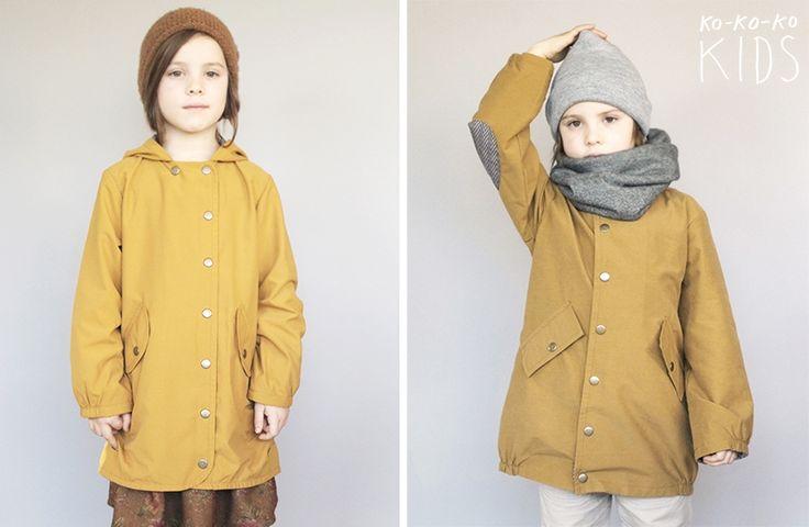 kokokoKIDS: Весенняя коллекция 2014: плащи для мальчиков и для девочек