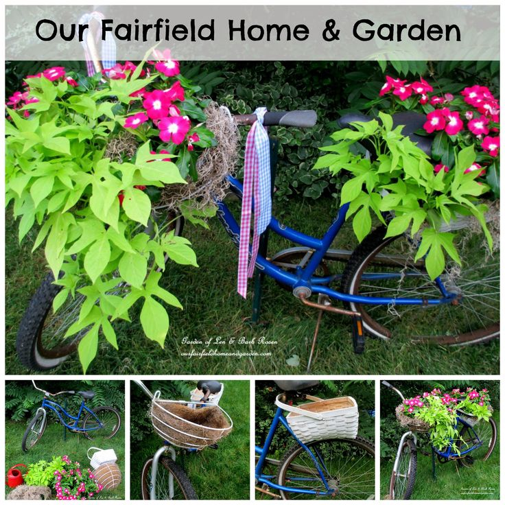 Best 25+ Bike Planter Ideas On Pinterest   Old Bikes, Decorative Garden  Fencing And Front Yard Fence Ideas