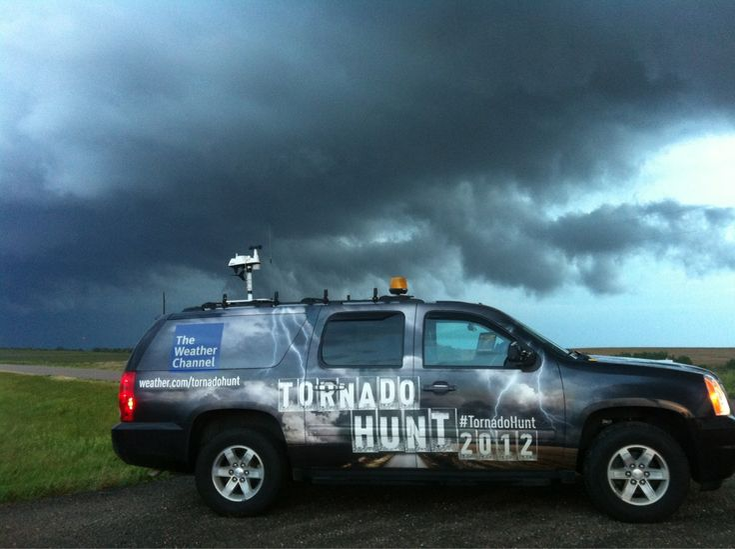 Twitter / TWCMJenkins: Another shot #TornadoHunt