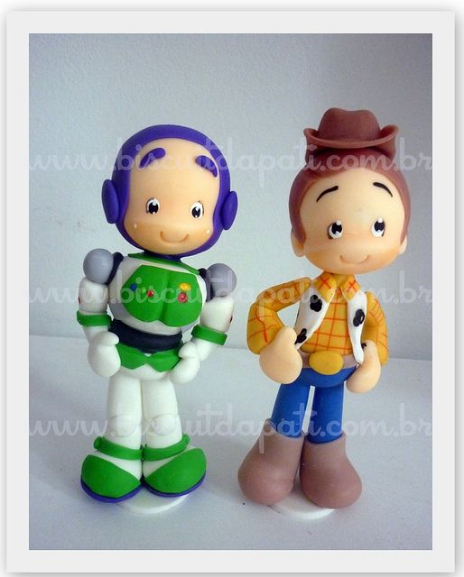 Buzz e Woody by Biscuit da Pati, via Flickr