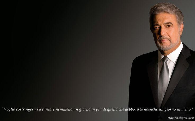 Un po di tutto e tutto di un po: Plácido Domingo