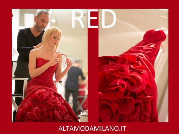 CAPODANNO alle porte ECCO gli abiti da cerimonia PERFETTI Rosso Valentino