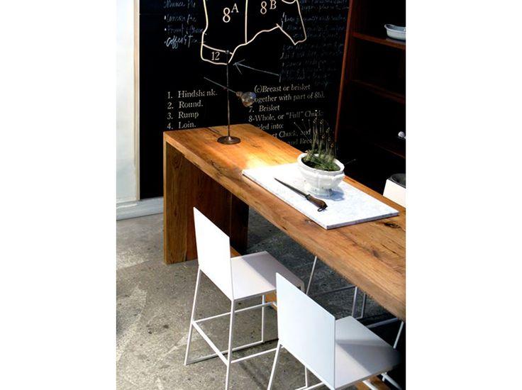 1000 id es propos de longue cuisine troite sur pinterest lot de cuisin - Table de cuisine etroite ...