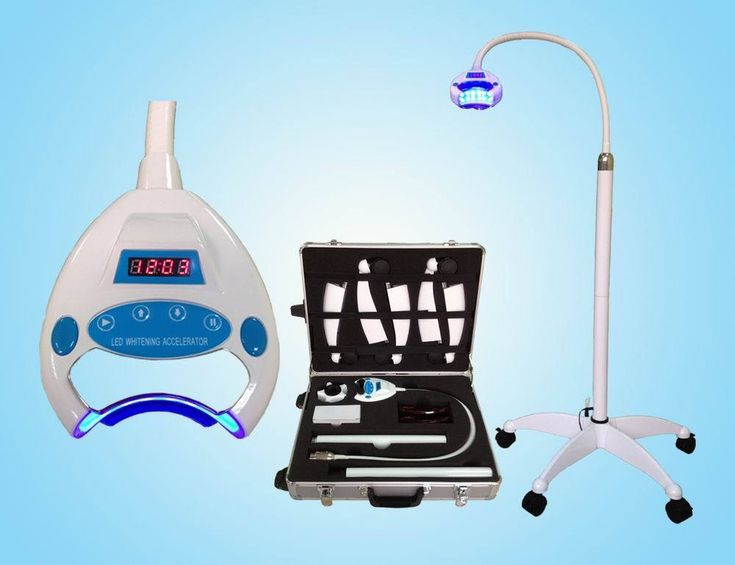 Dental Teeth Whitening System HD-880 with Aluminum Case RF IC Card Control VEP
