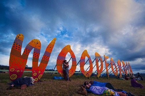 Sunrise Moments at the Woodford Folk Festival