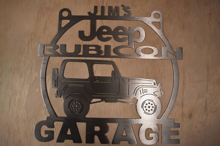 Best 25 garage signs ideas on pinterest man cave ideas for Garage jeep nimes