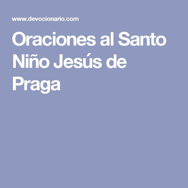 Oraciones al Santo Niño Jesús de Praga