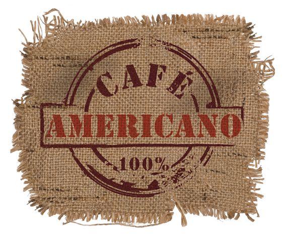 #cafè #americano #grafica #logo