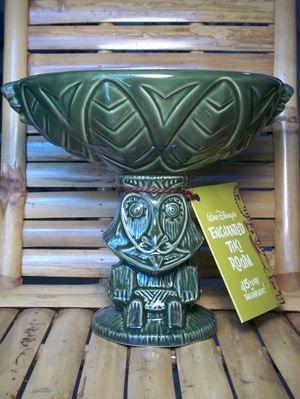 Rongo Tiki Drink Bowl Green - Ooga-Mooga! Tiki Mugs & More