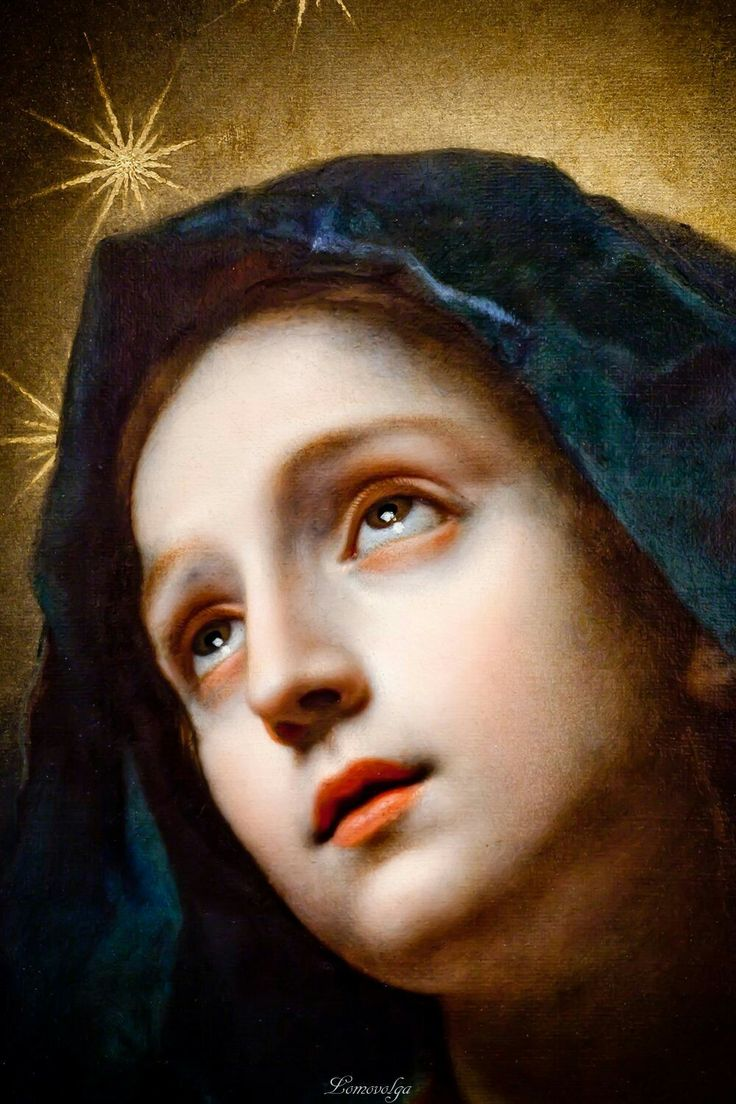 Carlo Dolci (1616–1686) Madonna in Glory (detail) circa 1670 oil on canvas Iris & B. Gerald Cantor Center for Visual Arts