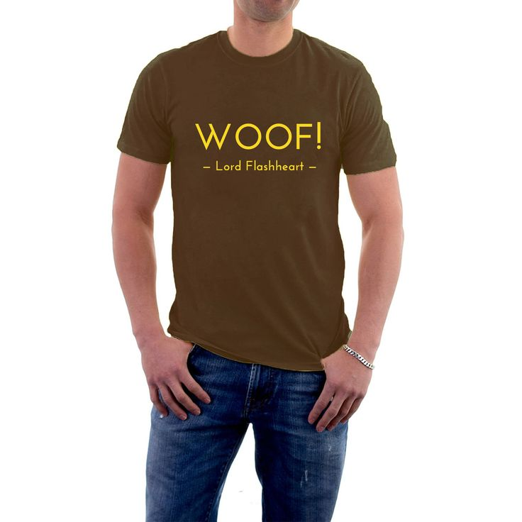 Excited to share the latest addition to my #etsy shop: Woof! Blackadder Lord Flashheart T-shirt. Rik Mayall Parody Funny Tee