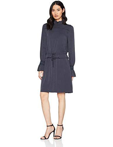 boss casual damen arosy kleid per pack blau dark blue 405 38